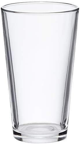 Amazon Basics Pint Pub Beer Glasses, 16-Ounce, Set of 6