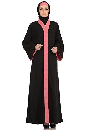 abaya stilvolle burqa dubai formale einfache islamische MyBatua 520 Abnutzung casual amp; AY BqAnp