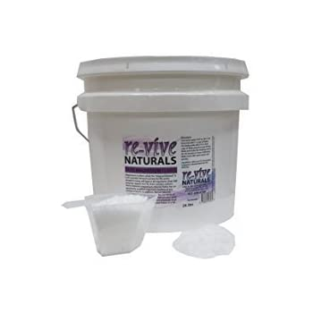 Re-vive Naturals Magnesium Chloride Flakes, FOOD Grade Quality, 24 Lbs.