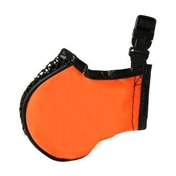 ProGuard Pets Softie Muzzle for Dogs, Medium Orange