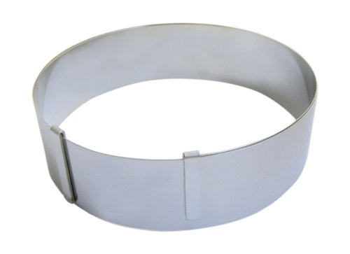 GIANT EXTENSIBLE RING in Stainless Steel , O from 7 to 14-Inch, Height 1.75-Inch