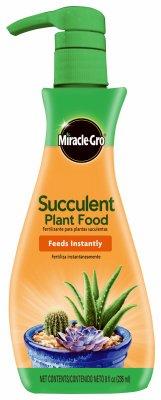 Foods Aloe - Miracle-Gro Liquid Succulent Plant Food, 8 Ounce
