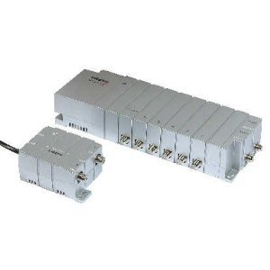 6 Way Tv Aerial Signal Booster Distribution Amplifier Amazon Co Uk