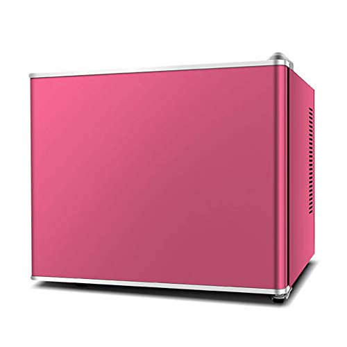 Single Door Refrigerator Mini Refrigerator Bedroom Office Or Dormitory With Glass Shelf And Adjustable Feet Compact Refrigerator Red Wine Freezer