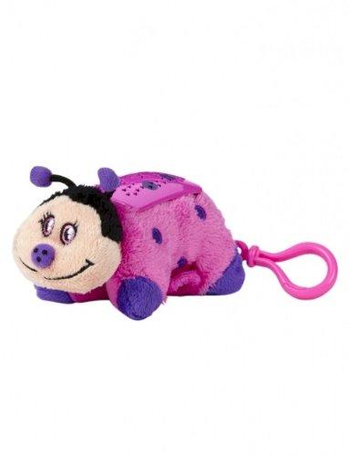 Stuffed Night Light Animal (Pillow Pets Dream Lites Mini - Hot Pink Ladybug)