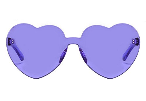 Gafas Tendencia De Sol Melocotón Sol C6 De Películas Sol Pc JUNHONGZHANG De De Love Sol Gafas Mujer Sin Gafas Gafas Marinas Marco C8 Corazones d0qUn