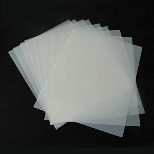 - ATPWONZ 10Pcs Blank Stencil Sheets 12 x 12 inch 7 Mil Thickness Square Stencil Paper for Cricut Silhouette Machines