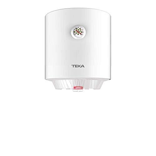 Teka | Termo electrico de 15 litros | EWH 15 C | Consumo medio para 1-2 personas | Tanque esmaltado Zafire | Color Blanco