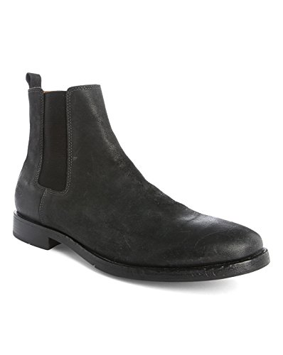 NATIONAL STANDARD - Herren- Schwarze Chelsea Boot Edition 14 aus Burnished Leather für herren
