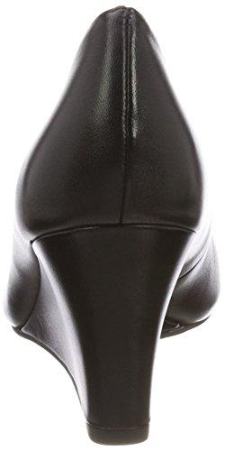 Tamaris Women's 22468 Closed-Toe Pumps Black (Black Leather) Ig24aXTy