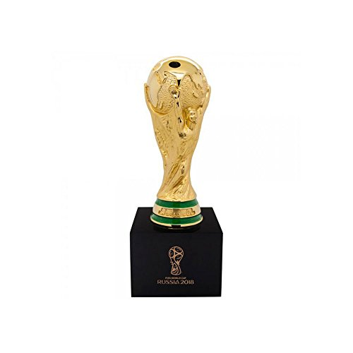 2018 World Cup Replica Trophy on Wooden Pedestal (ca. 3 inches) - One Size (Replica Cup World Trophy)