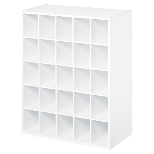 ClosetMaid 8506 25-Cube Organizer, White