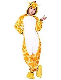 Christmas Gift Unisex Adults Costumes Pajamas, Animal Cartoon Siamese Onesies Pajamas
