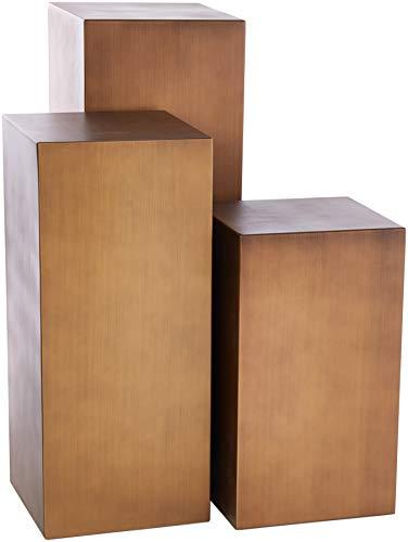 Pangea Home Z PED Brass Miami Pedestal Set ()