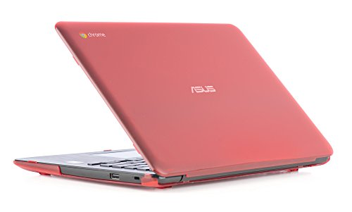 iPearl mCover Hard Shell Case for 13.3 ASUS Chromebook C300MA / C300SA Series Laptop (Red)