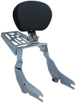 Yamaha V Star 650 Classic Detachable Sissy Bar//Backrest//Luggage Rack