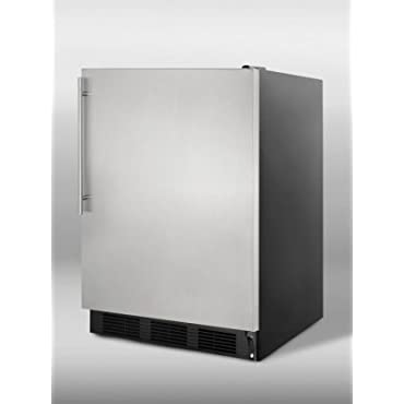 Summit AL752BSSHV; 5.5 cu. ft. Compact ADA Compliant All-Refrigerator