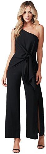 Bardot Women's Petite Bellini Jumpsuit, Black, X-Small by Bardot