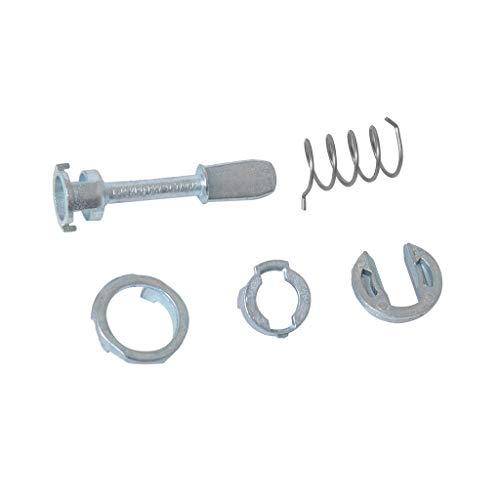 B Blesiya Driver Left/Right Doors Lock Cylinder Barrel Repair Kit for VW Passat