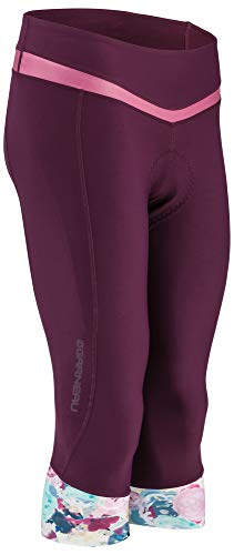 Louis Garneau Women's Neo Power Art Airzone Cycling Knickers with Padded Chamois, Shiraz/Multi, Medium by Louis Garneau (Image #1)