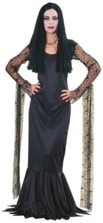 [Adams Family Morticia Costume Size: Medium] (Addams Family Girl Halloween Costume)