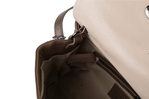 Bachiller Borsa Flap Tortora Scuro An1803 Salvador Angy f5wUqdxwCZ