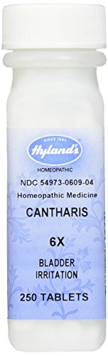 Hylands Cantharis Tablets Homeopathic Irritation