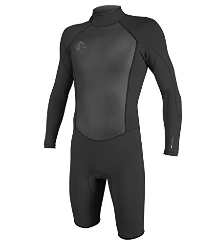 O'Neill Men's O'riginal 2mm Back Zip Long Sleeve Spring Wetsuit, Black, Large