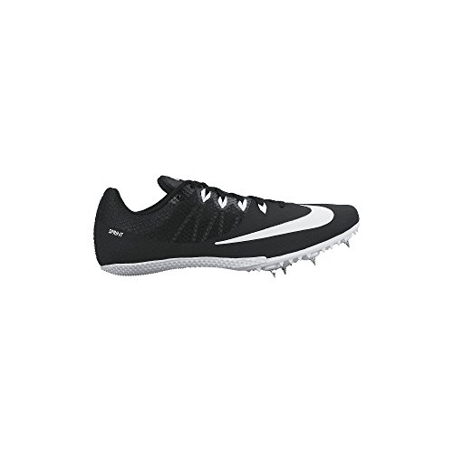 Nike Men's Zoom Rival S 8 Track Spike Black/White -  12 D(M) (Nike Costumes Shoes)