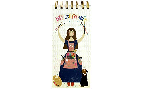Molly & Rex 38564 PadLet'sBeCreative Spiral List Pad Let's Be Creative - None