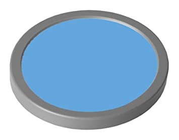 3886f8521b Grimas Water make up Theaterschminke 25ml Farbe 302-hellblau: Amazon ...