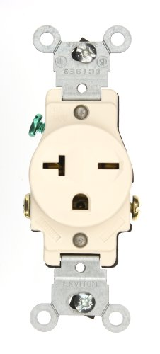 Leviton 5821i 20 250 Volt Narrow Body Single Receptacle. Leviton 5821i 20 250 Volt Narrow Body Single Receptacle Straight. Wiring. 250 Volt Single Outlet Wiring At Scoala.co