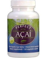 Perfect Acai – Freeze dried Organic Acai Berry-100% Pure -120 Capsules