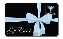 Blue Martini Gift Card ($50) - Stores Fort In Florida Lauderdale