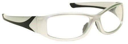 Price comparison product image Silver Wrap Around Radiation Leaded Protective Eyewear