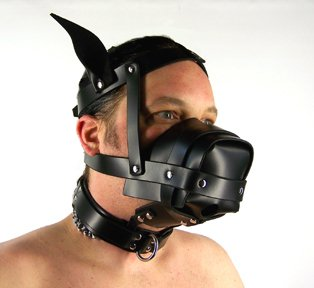 Gift Set of The Open Face Dog/Animal Hood and one Screaming O Ultimate Disposable Vibrating Ring by Axovus (Image #2)