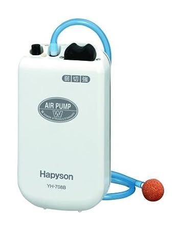 ハピソン(Hapyson)乾電池式エアーポンプYH-708Bの画像