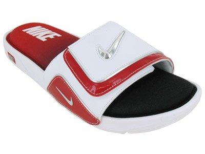 aeaa5a1f0f9ba NIKE Comfort Slide 2 Mens Flip Flops 415205-106 White 12 M US (B004Q39KFS)