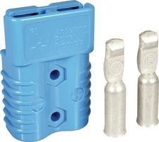 Heavy Duty 6326G6 Power Connectors SB175 BLUE #4 AWG #4 AWG CONT 175A