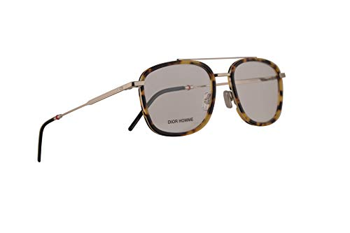 Christian Dior Homme Dior0229 Eyeglasses 53-19-150 Light Havana Gold w/Demo Clear Lens VR0 ()