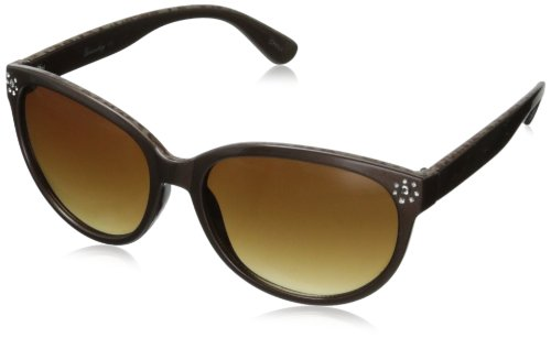 union-bay-womens-u233-cat-eye-sunglassesbrown52-mm