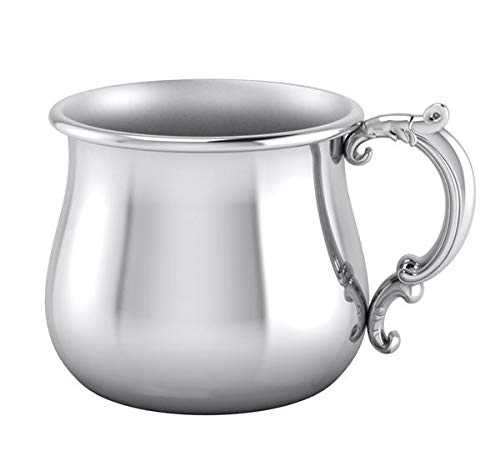 Krysaliis Victorian Plate Baby Cup by Silver