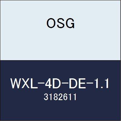 OSG エンドミル WXL-4D-DE-1.1 商品番号 3182611