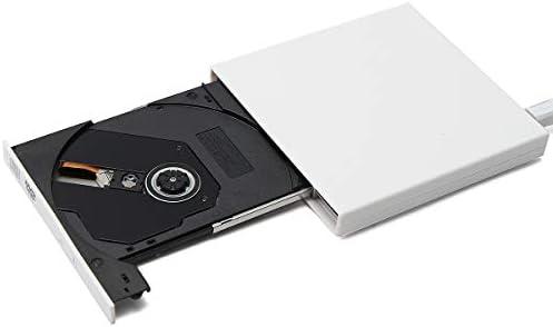 ZHZH-JP スリム外付け光学ドライブUSB 2.0 DVDコンボDVD-ROMプレーヤーCD -RWバーナーライタープラグプレイ