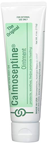- Calmoseptine Ointment 4 oz (Pack of 8)