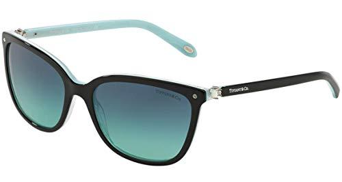 Tiffany TF4105HB 8193/9S Black/Striped Blue - Blue Gradient ()