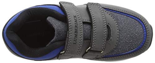 Blue grey Bambino royal Run Lumberjack M0737 Sneaker Grigio BPwYxvq