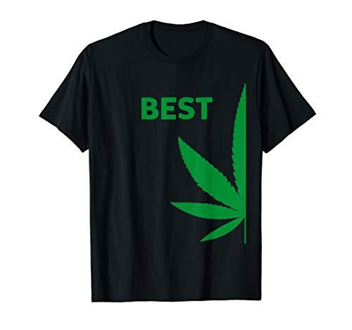 Matching BFF Couples Best Marijuana Costume Shirt