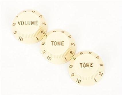 amazon com fender knobs one volume, two tone, vintaged musical Push Pull Volume Tone Pot amazon com fender knobs one volume, two tone, vintaged musical instruments