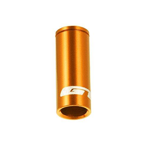 Lixada GUB 100pcs 4mm / 5mm Aluminio Aleación Bicicleta Desviador Cambio Freno Cable Cable Casquillo De Extremo Oro